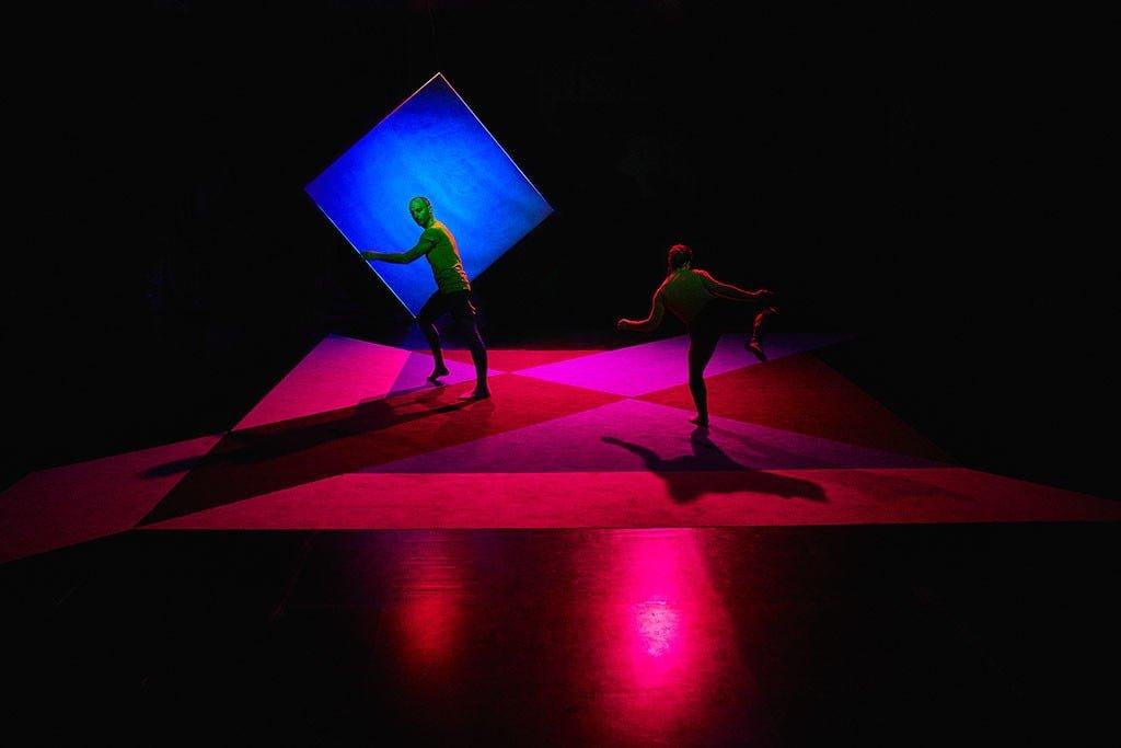 Il colore si fa spazio ph. © Daniele Casadio - Dancers: Daniele Albanese, Rhuena Bracci
