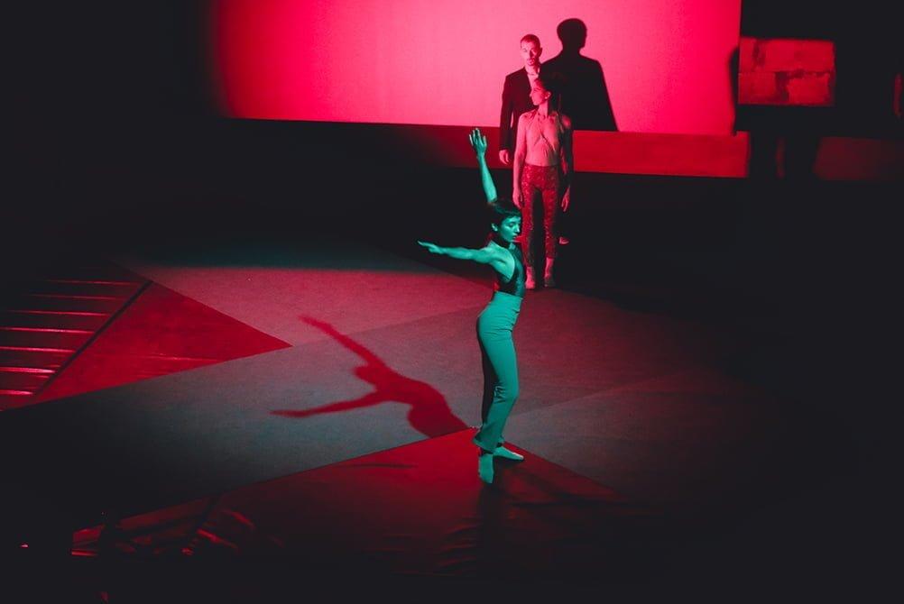 Nanou - We want Miles, in a silent way - ph. © Michela di Savino - Dancers: Marina Bertoni, Carolina Amoretti, Marco Maretti