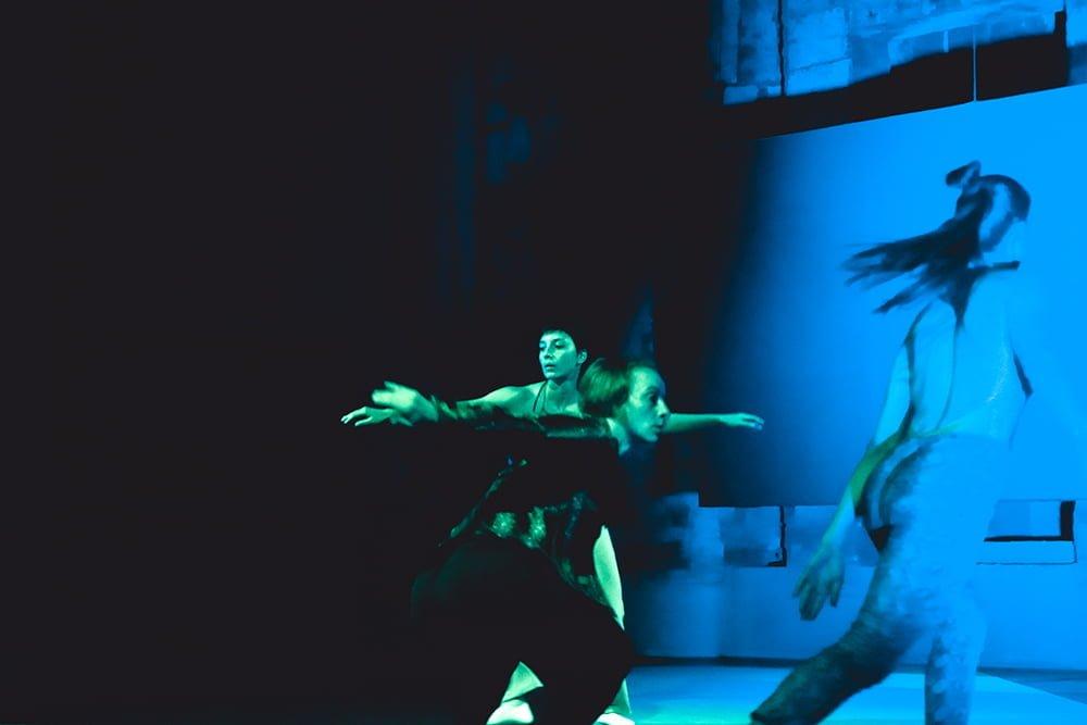 Nanou - We want Miles, in a silent way - ph. © Michela di Savino - Dancers: Marina Bertoni, Rhuena Bracci, Carolina Amoretti
