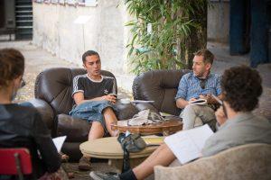 gruppo nanou . Conversazione per Arsura . ph. © Gianluca Naphtalina Camporesi