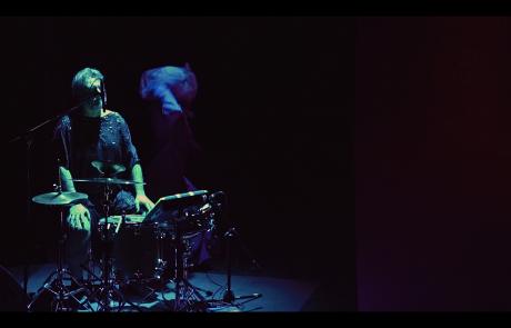 gruppo nanou + OvO | Canto Primo: Miasma + Arsura . still video Claudio Stanghellini - Rhuena Bracci, Bruno Dorella