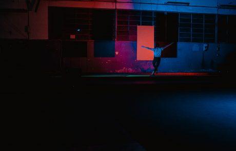 © Giulia Ferrando, Color takes up space, rehearsal at Ipercorpo Festival